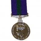 Army & RAF General Service, GV1R, Medal (Miniature)