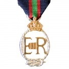 Royal Navy Volunteer Reserve, Decoration, E11R, Medal (Miniature)