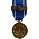 NATO (Former Yugoslavia) - Miniature Medal