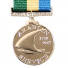 Arabian Service Medallion, Medal (Miniature)