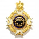 RAChD Gilt & Silver Collar Badge