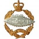 RTR Officer Gilt/Silver Collar Badge