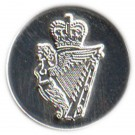 Royal Irish Button, Silver (26L)