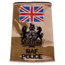 RAF Rank Slides, Desert, (WO), Police