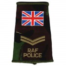RAF Rank Slides, CS95, (Cpl), Police UK