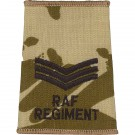 RAF Regiment Rank Slides, Desert, (Sgt)