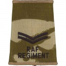 RAF Regiment Rank Slides, Desert, (Cpl)