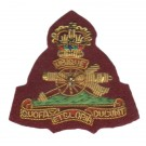 Royal Artillery Beret Badge, Officers, on PARA
