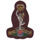 Royal Signals Beret Badge, Maroon