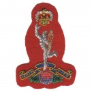 Royal Signals Beret Badge, Red