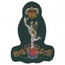 Royal Signals Beret Badge, Green
