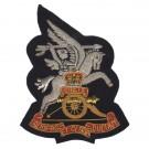 Royal Artillery Blazer Badge, Airborne, Wire