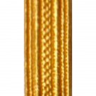 Gold Cellophane Lace 1/4 inch