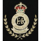 Royal Military Academy Sandhurst Blazer Badge, GV1R, Wire