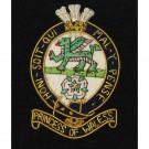 PWRR Wire Blazer Badge