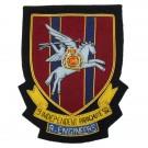 RE 9 Ind PARA Sqn Wire Blazer Badge
