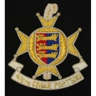 R Sussex Cinque Ports Wire Badge