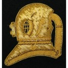 Divers Badge No1 Dress (On Navy)