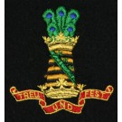 11th Hussars Blazer Badge, Silk