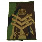 RGBW Rank Slides, CS95, (C/Sgt)
