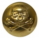 Queens Royal Lancers Button, Brass (30L)