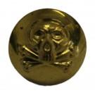 Queens Royal Lancers Button, Brass (26L)