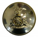 Royal Artillery Button, Anodised, Screw Fitting (30L)