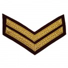 Cpl Mess (On PARA Maroon) Rank Chevron