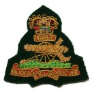 Royal Artillery Beret Badge,Commando Green Officers