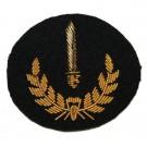 Grade 2 Infantryman (Gold on Navy)