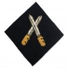 Grade 1 Infantryman (Gold on Navy)