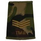 RAF Rank Slides, CS95, (Sgt), TMW