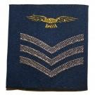RAF Rank Slides, RAF Blue, (Sgt Aircrew)