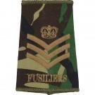 Fusiliers Rank Slides, CS95, (C/Sgt)