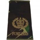 Fusiliers Rank Slides, CS95, (RQMS)