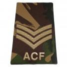 ACF Rank Slides, CS95, (Sgt)