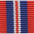 1939 to 1945 War Medal, Medal Ribbon (Miniature)