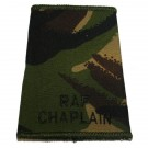 RAF Rank Slides, CS95, (Chaplain)