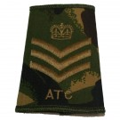 ATC Rank Slides, CS95, (F/Sgt)