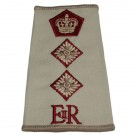 RAMC Rank Slides, Cream, (Col), E11R