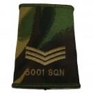 RAF Rank Slides, CS95, (Sgt), 5001 Sqn