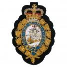 Royal Fusiliers Blazer Badge, Silk
