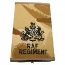 RAF Regiment Rank Slides, Desert, (WO)