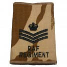 RAF Regiment Rank Slides, Desert, (F/Sgt)