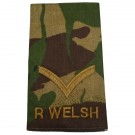 R WELSH Rank Slides, CS95, (L/Cpl)