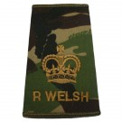 R WELSH Rank Slides, CS95, (WO2)
