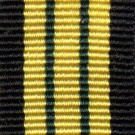Africa General Service 1902, Medal Ribbon (Miniature)