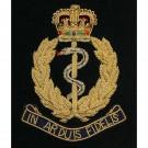 RAMC In Arduis Fidelis Wire Blazer Badge