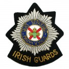 Irish Guards Wire Blazer Badge
