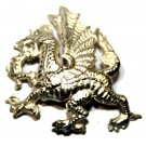Royal Welch Fusiliers Beret Badge, Officer, Dragon